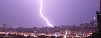 lightning risks