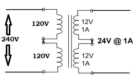 Dual Voltage Transformers 1
