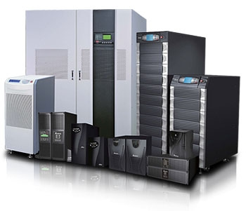 Different sizes of UPS manufactured by Delta Electronics Inc.