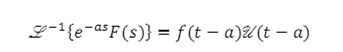 Theorems of Laplace Transform 10