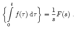 Theorems of Laplace Transform 29