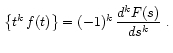Theorems of Laplace Transform 30