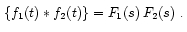 Theorems of Laplace Transform 32