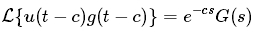 Theorems of Laplace Transform 4
