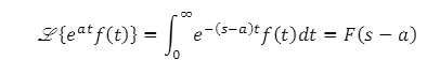 Theorems of Laplace Transform 5