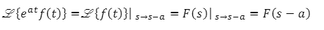 Theorems of Laplace Transform 6
