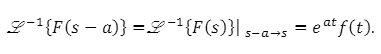 Theorems of Laplace Transform 8