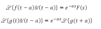 Theorems of Laplace Transform 9