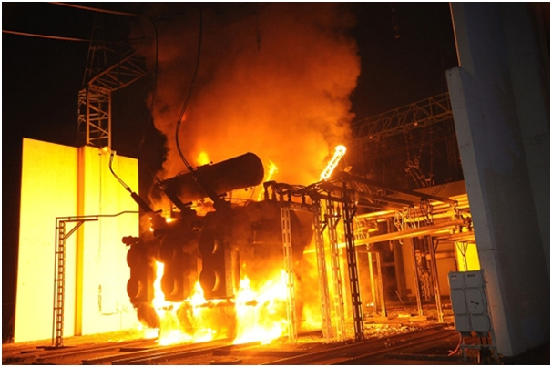 What To Do When You Encounter Fire In Power Substation