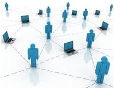 Fig 1: Blogging helps in networking across region