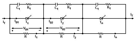 Series and parallel operation of thyristors 3