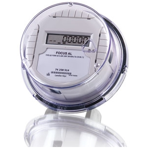 One phase electricity smart meter for direct measuring