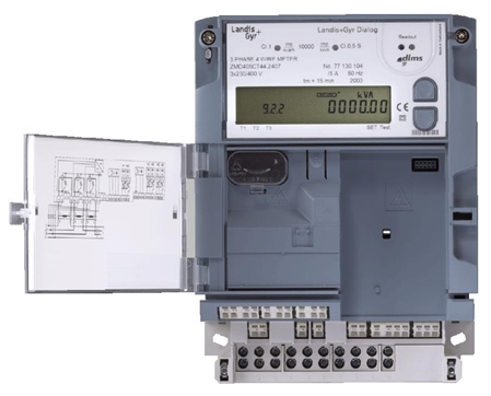 Electricity smart meter for indirect measuring