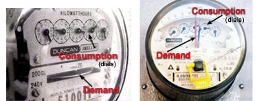 Tariff and metering for low voltage systems