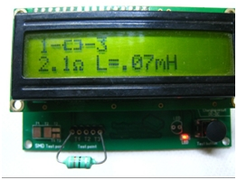 Making measurements with an LCR Meter