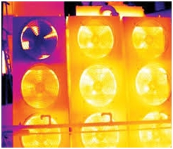 Heated Transformer - Thermal Imaging