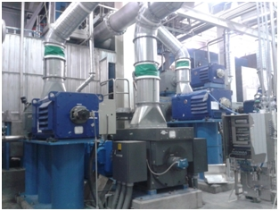 Paper machine driven by a mix of DC and AC motors