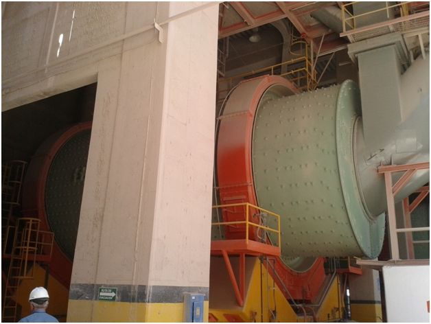 Ball Mill driven by Synchronous Motor