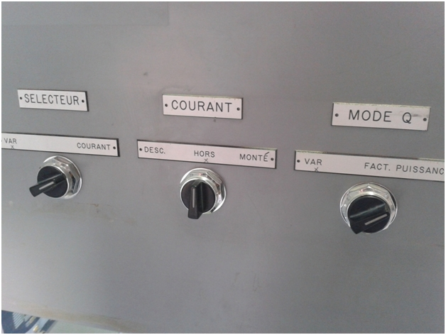 Legacy synchronous motor control panel