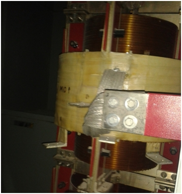 Figure 4: In-line reactor for an assisted start-up of a synchronous motor