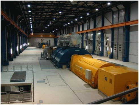 hydrogen-cooled turbo generator
