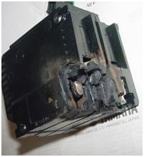 low voltage breaker hot spot
