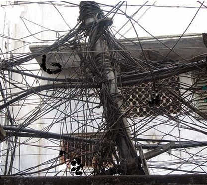 Power losses in distribution lines