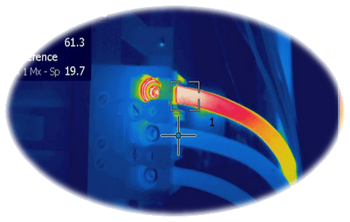circuit breaker infrared thermography testing