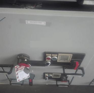circuit breaker maintenance work