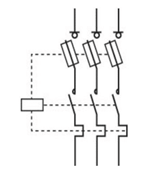 fuse switch disconnector symbol
