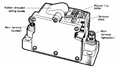 Reverse circuit breaker