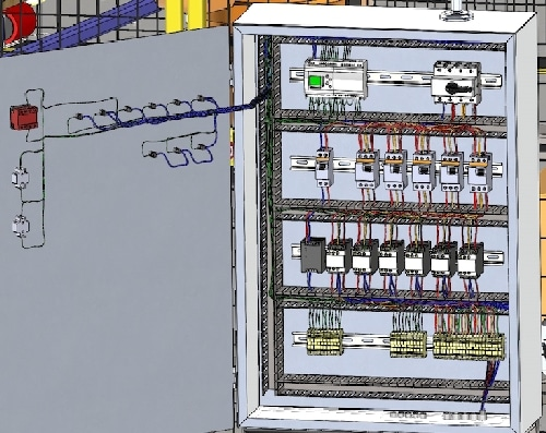electrical Panel design and circuitry