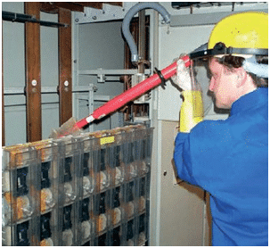 switchgear interior cleaning