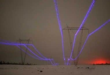 Image 1: Corona Effect | Impacts of Weather on Power Electrical Systems