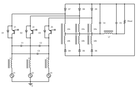 Picture 1: Circuit layout