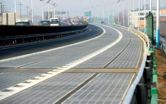 Image No. 3 Solar Road Located in Jinan China | source image @elcomercio.pe